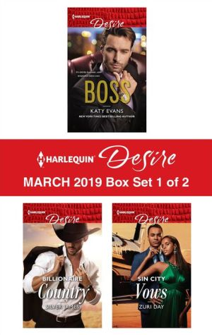 Book Harlequin Desire March 2019 - Box Set 1 of 2: #1 Boss\Billionaire Country\Sin City Vows