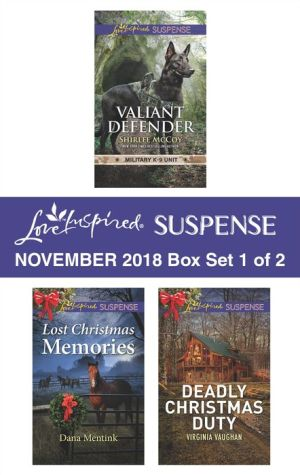 Harlequin Love Inspired Suspense November 2018 - Box Set 1 of 2: Valiant DefenderLost Christmas MemoriesDeadly Christmas Duty