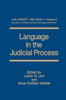 Language in the Judicial Process
