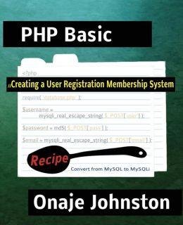 Creating a User Registration Membership System