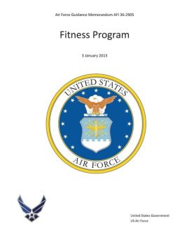 Air Force Guidance Memorandum AFI 36-2905 Fitness Program