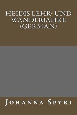 Heidis Lehr- und Wanderjahre (German)