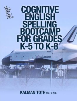Cognitive English Spelling Bootcamp for Grades K-5 to K-8