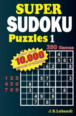 Super Sudoku Puzzles