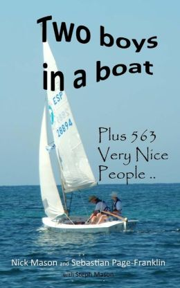 Two boys in a boat: with 563 Very Nice People