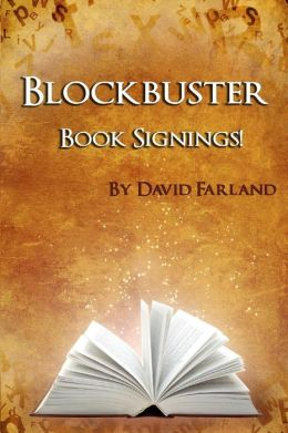 Blockbuster Book Signings