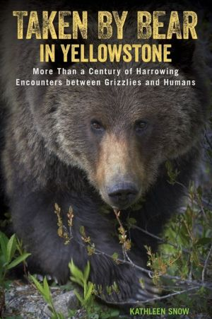 Taken by Bear in Yellowstone: A Century and a Half of Harrowing Encounters between Grizzlies and Humans