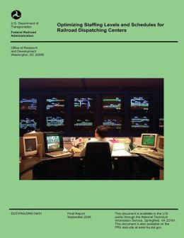 Optimizing Staffing Levels and Schedules for Railroad Dispatching Centers