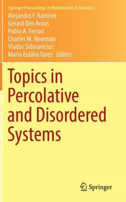 Topics in Percolative and Disordered Systems