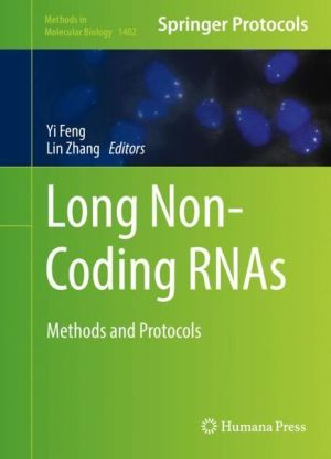 Long Non-Coding RNAs: Methods and Protocols