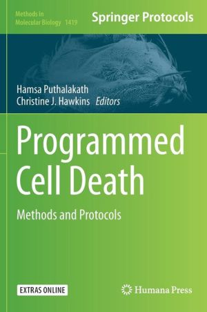 Programmed Cell Death: Methods and Protocols