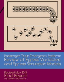 Passenger Train Emergency Systems: Reviewof Egress Variables and Egress Simulation Models