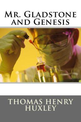 Mr. Gladstone and Genesis