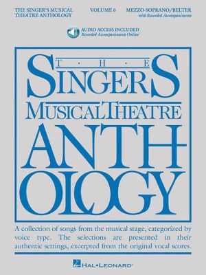 The Singer's Musical Theatre Anthology - Volume 6: Mezzo-Soprano/Belter Book/Online Audio