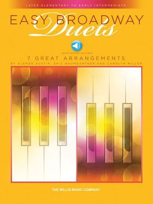 Easy Broadway Duets - Book/Audio: Later Elementary to Early Intermediate Level