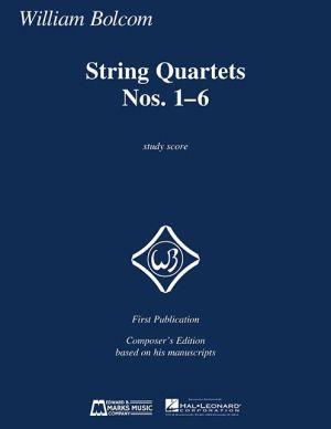 String Quartets Nos. 1-6: Study Score