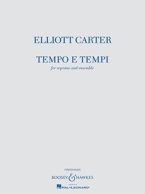 Tempo e Tempi: for Soprano and Ensemble