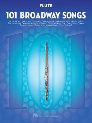101 Broadway Songs for Flute