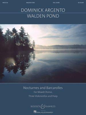Walden Pond: for SATB Chorus, 3 Cellos and Harp