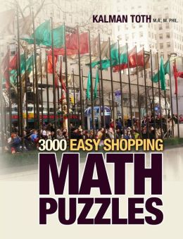 3000 Easy Shopping Math Puzzles