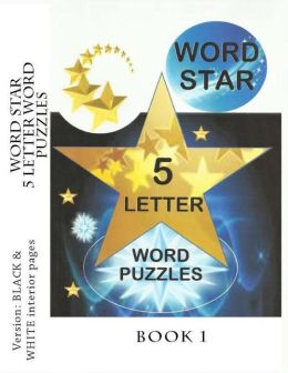 Word Star 5 Letter Word Puzzles - Book 1