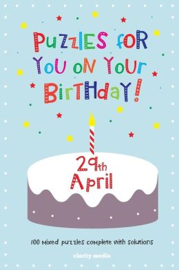 Puzzles for You on Your Birthday - 29th April
