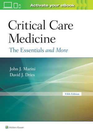 Book Critical Care Medicine: The Essentials and More