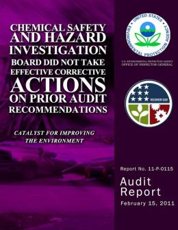 Chemical Safety and Hazard Investigation Board Did Not Take Effective Corrective Actions on Prior Audit Recommendations
