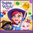 Book Cover Image. Title: Bubble Witch Saga 2 Game:  Guide With Extra Bubble Tips!, Author: RAM Internet Media