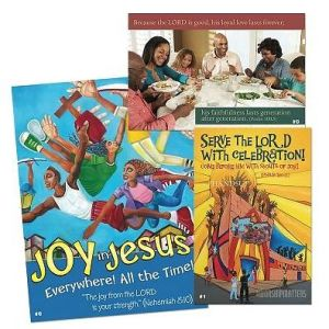 Vacation Bible School (VBS) 2016 Joy in Jesus Decorating/Publicity Poster Pak: Everywhere! All the Time!