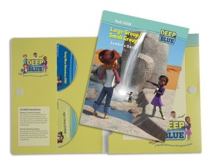 Deep Blue Large Group Small Group Kit Fall 2016: Ages 7 & Up