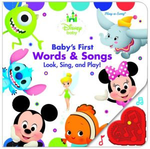 Disney Baby Baby's First Musical Treasury Listen, Laugh, Learn