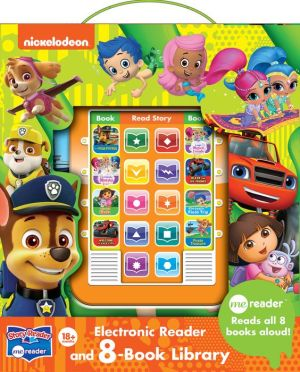 Nickelodeon Me Reader Electronic Reader and 8-Book Library: Reads all 8 Books aloud!