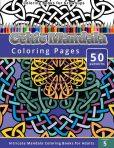 Book Cover Image. Title: Coloring Books for Grownup:  Celtic Mandala Coloring Pages: Intricate Mandala Coloring Books for Adults, Author: Chiquita Publishing