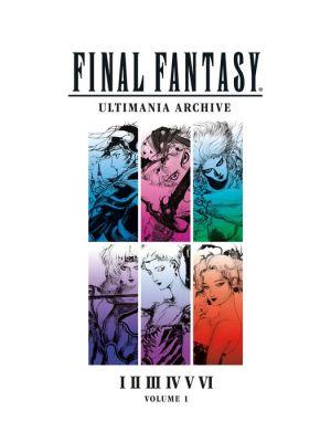 Book Final Fantasy Ultimania Archive Volume 1
