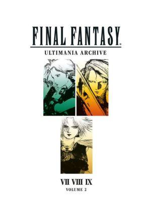 Book Final Fantasy Ultimania Archive Volume 2