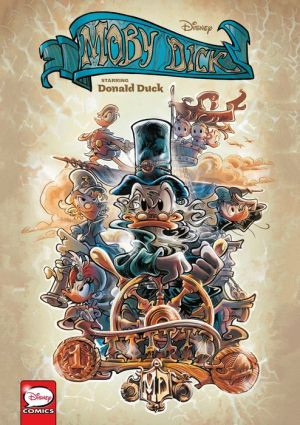 Book Disney Moby Dick, starring Donald Duck (Graphic Novel)