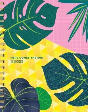 Book 2020 Pipsticks Here Comes The Sun 17-month Large Spiral Planner|Calendar