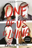 Book Cover Image. Title: One of Us Is Lying, Author: Karen M. McManus