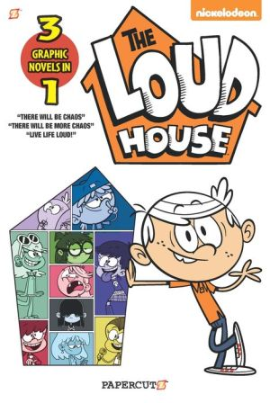 Book Loud House 3-in-1: There will be Chaos, There Will be More Chaos, and Live Life Loud!