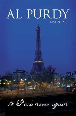 To Paris Never Again