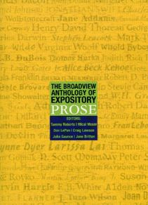 The Broadview Anthology of Expository Prose