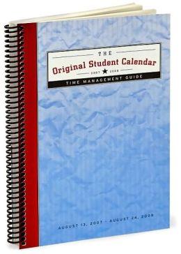 2008 Original Student Planner Engagment Calendar