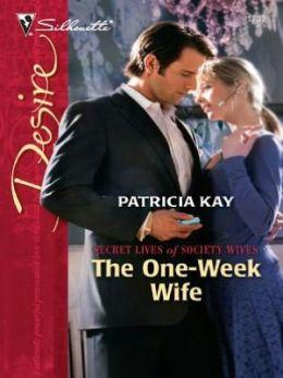 One-Week Wife (Silhouette Desire #1737)