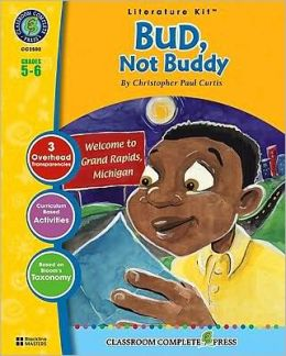 A Literature Kit for Bud, Not Buddy, Grades 5-6 [With 3 Overhead Transparencies]