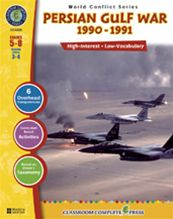 Persian Gulf War 1990-1991, Grades 5-8: Reading Levels 3-4 [With 6 Overhead Transparencies]