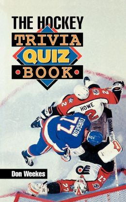 Hockey Trivia Quiz Book