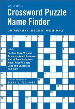 Crossword Puzzle Name Finder