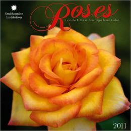 2011 Roses - Smithsonian Institution Wall Calendar