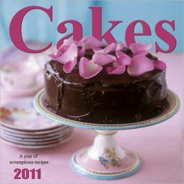 2011 Cakes Wall Calendar